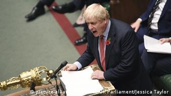 O βρετανός Πρωθυπουργός Μπόρις Τζόνσον