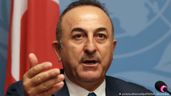 Turkish Foreign Minister Mevlut Cavusoglu (picture-alliance/dpa/TASS/A. Shcherbak )