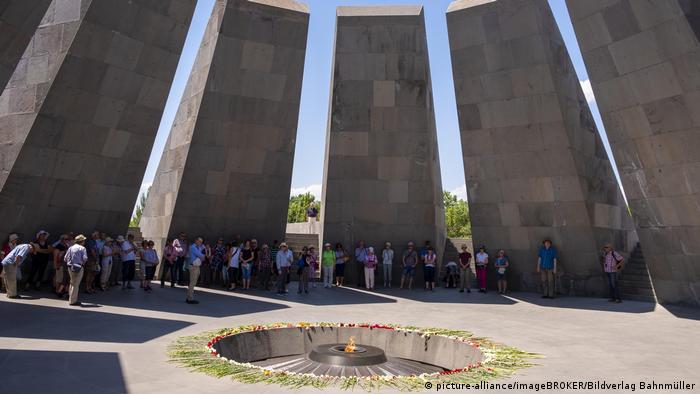 Armenien Genozid-Gedenkstätte Zizernakaberd in Jerewan