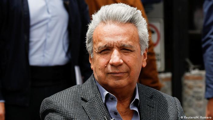 O presidente do Equador, Lenín Moreno