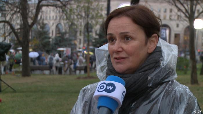 Natalia Petrova speaks to DW