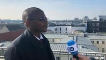 Stanislas Ouaro, Bildungsminister in Burkina Faso, Videostill aus DW Eigendreh.