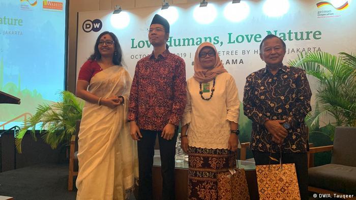 Indonesien Eco-Islam-Konferenz in Jakarta | Kampf-um-die-Köpfe-Seminar (DW/A. Tauqeer)