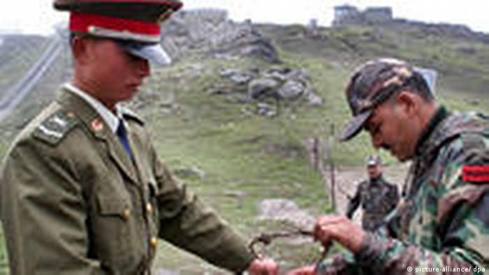 Grenze China Indien Grenzpass (picture-alliance/ dpa)