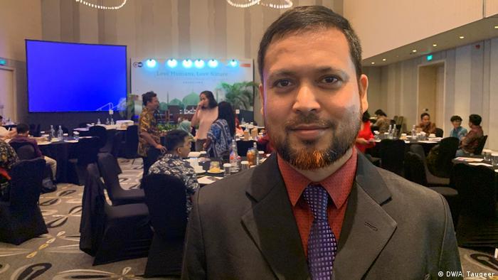 Indonesien Eco-Islam-Konferenz in Jakarta | Abu Sayem, Dhaka university (DW/A. Tauqeer)