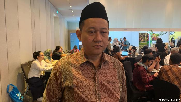 Indonesien Eco-Islam-Konferenz in Jakarta | Hayu Prabowo, Eco Mosque Initiator (DW/A. Tauqeer)