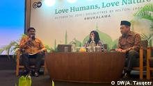 Indonesien Eco-Islam-Konferenz in Jakarta