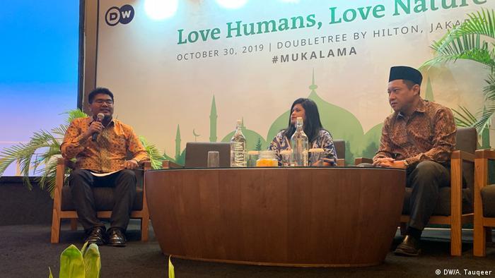 Indonesien Eco-Islam-Konferenz in Jakarta (DW/A. Tauqeer)