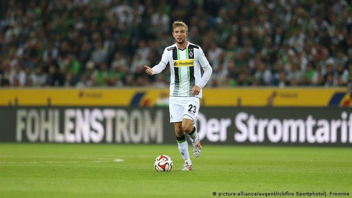 1. Bundesliga Saison 2014/2015 | Vfl Borussia Mönchengladbach - Einzelaktion Christoph Kramer (picture-alliance/augenklick/firo Sportphoto/J. Fromme)
