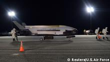 Weltraumdrohne der US Air Force X-37B (Reuters/U.S. Air Force)
