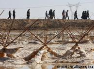 مرز شلمچه،  میان ایران و عراق