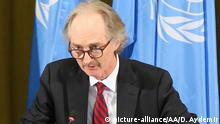 Syrischer Verfassungsausschuss tritt erstmals zusammen | Geir Pedersen