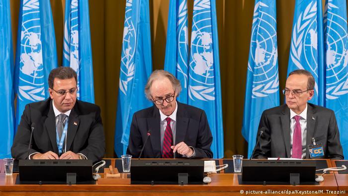 نخستین دور مذاکرات کمیته قانون اساسی سوریه در ژنو - اکتبر ۲۰۱۹