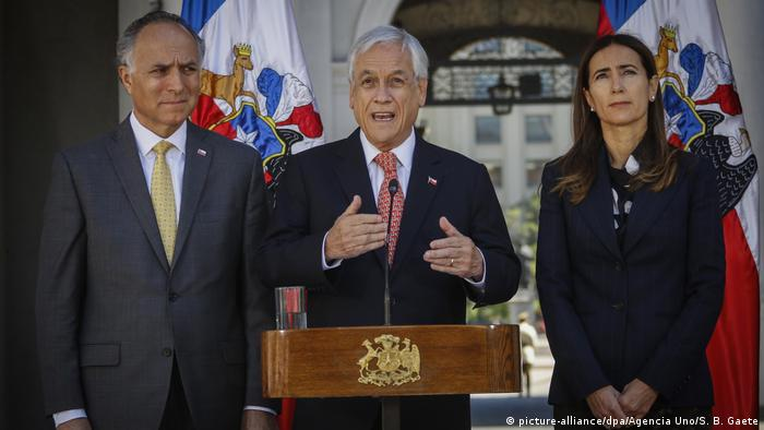 Chile sagt Ausrichtung des Klima-Gipfels im Dezember ab (picture-alliance/dpa/Agencia Uno/S. B. Gaete)