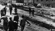 Zwangsarbeits- und Konzentrationslager Plaszow in vom Nazi-Deutschland besetztem Polen