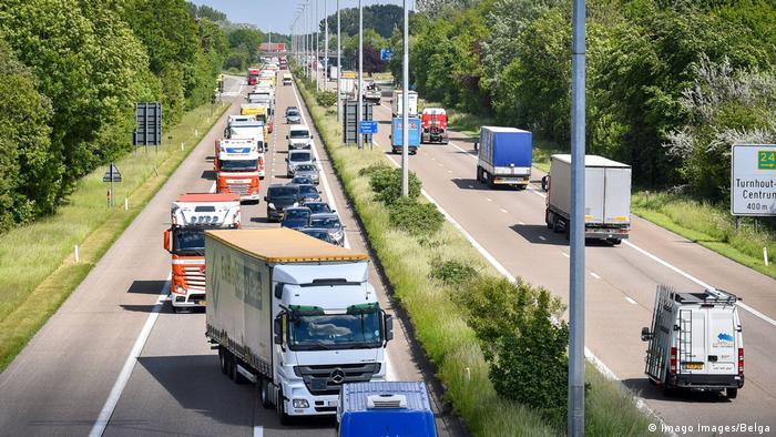 Trucks in Belgium