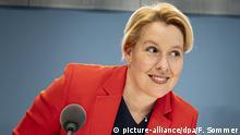 Berlin | Franziska Giffey zur Pressekonferenz der Fachkräfteoffensive für ErzieherInnen
