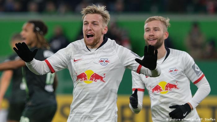 DFB Pokal | VfL Wolfsburg v RB Leipzig (picture-alliance/dpa/P. Steffen)