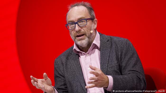 Köln | Wikipedia Gründer Jimmy Wales auf der dmexco 2019