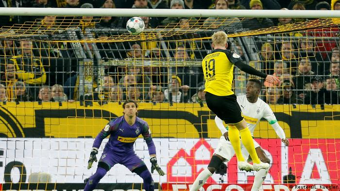 DFB Pokal Borussia Dortmund v Borussia Mönchengladbach Brandt 2. Tor (Reuters/L. Kuegler)