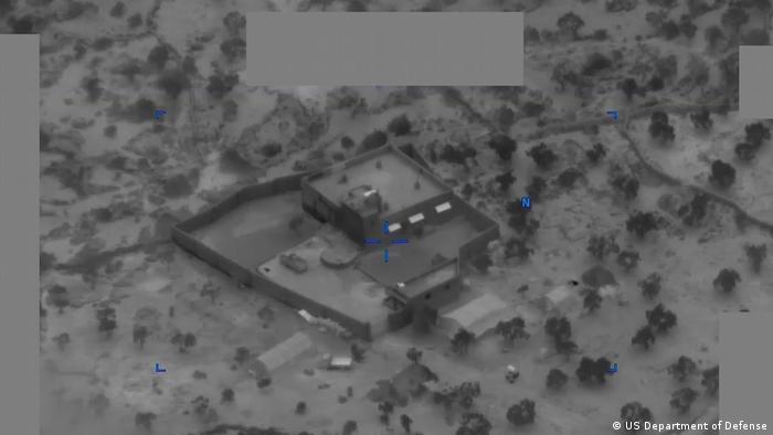 Snimak iz vazduha akcije u kojoj je ubijen Al Bagdadi