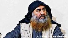 Pentagon PK Veröffentlichung Bildmaterial al-Baghdadi Einsatz