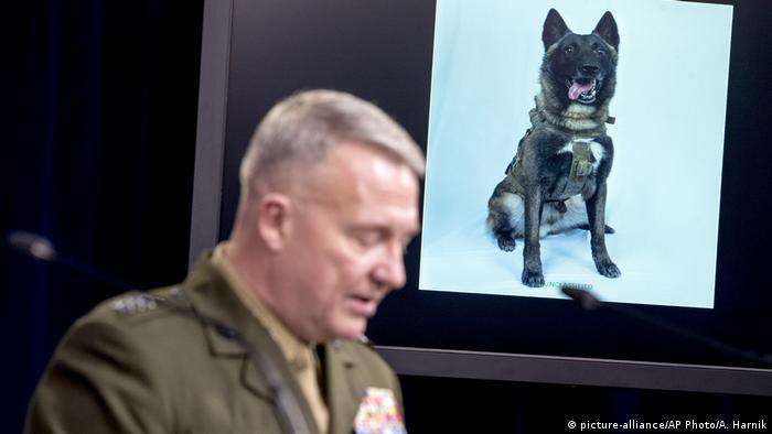 Pentagon PK Veröffentlichung Bildmaterial al-Baghdadi Einsatz Militärhund