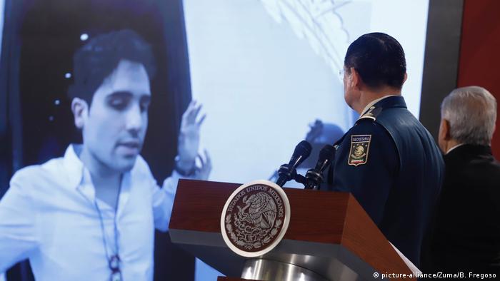 Ovidio Guzmán, uno de los hijos del Chapo Guzmán, fue capturado, pero las autoridades mexicanas lo dejaron huir.