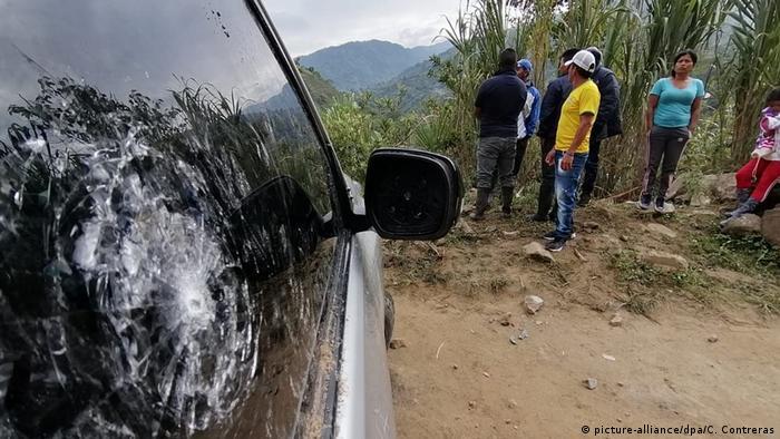 Kolumbien Mordanschlag auf Indigene