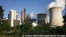 Kohlekraftwerk Weisweiler, Nordrhein-Westfalen, Deutschland, Europa | Verwendung weltweit, Keine Weitergabe an Wiederverkäufer.