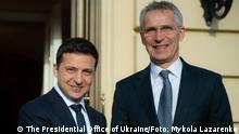 Ukraine Kiew | Wolodymyr Selenskyj, Präsident & Jens Stoltenberg, NATO-Generalsekretär