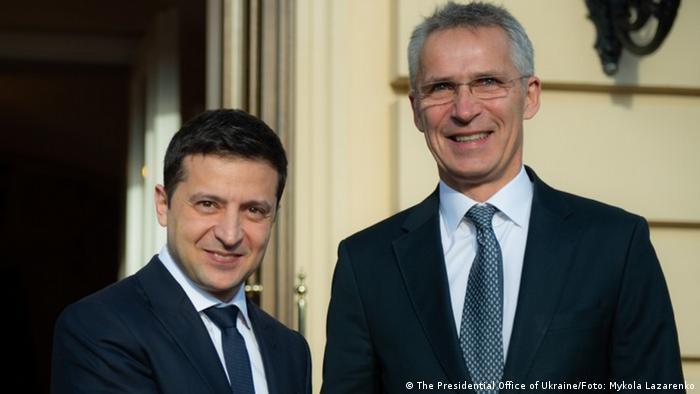 Президент Украины Владимир Зеленский и генсек НАТО Йенс Столтенберг в Киеве, 31 октября