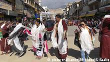 Indien spaltet Bundesstaat Jammu und Kaschmir in zwei Teile - Feier in Ladakh