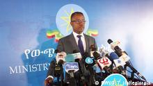 Nebyat Getachew, Spokesperson of the Ethiopian Ministry of Foreign Affairs Wo፡ Addis Abeba, Ethiopia Wann፡ 31.10.2019 Bild: Getachew Tedla Hailegiorgis (DW Correspondent)