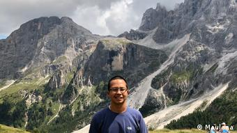 DWblog material - Maulana, Student aus Indonesien