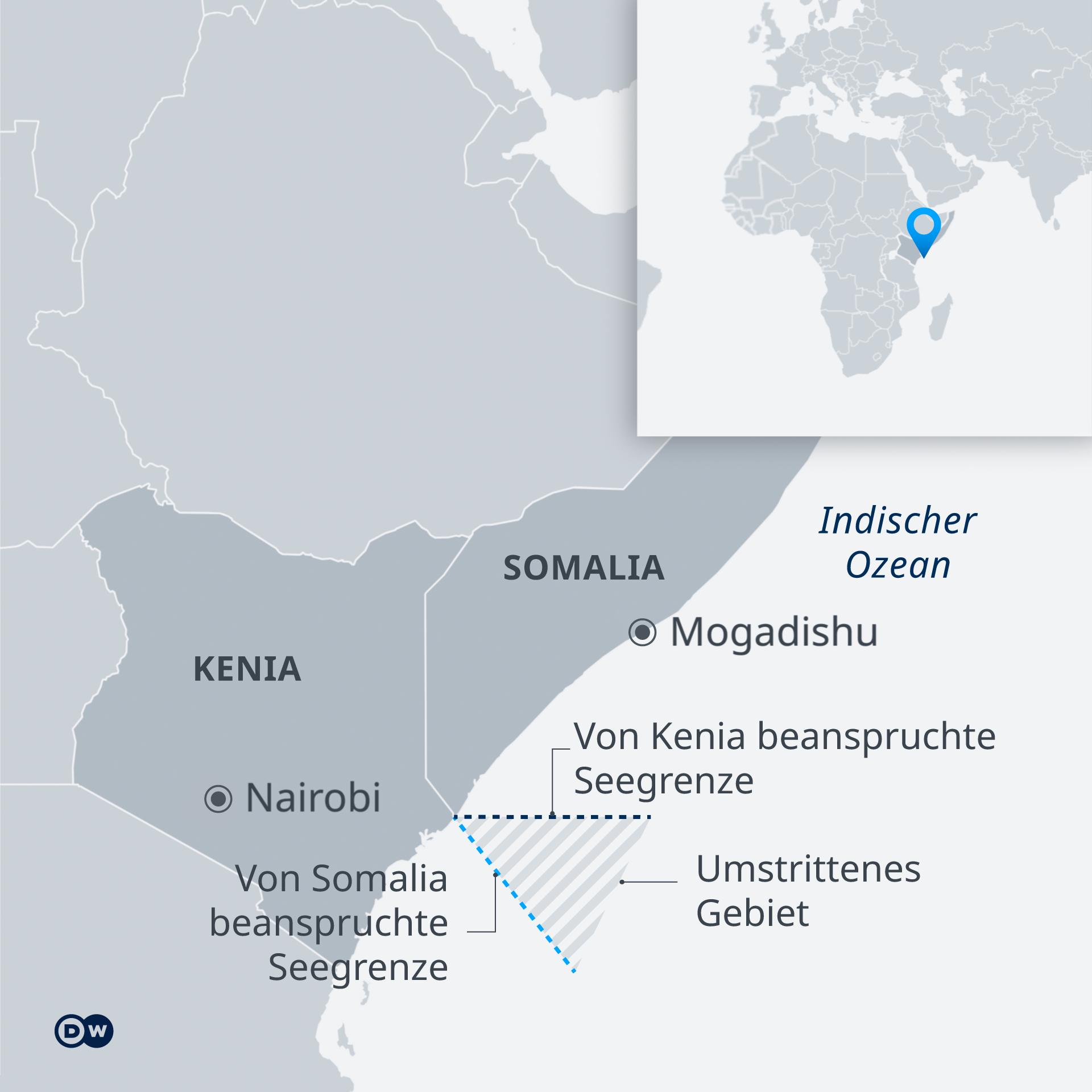 Infografik Seegrenzen Somalia Kenia DE