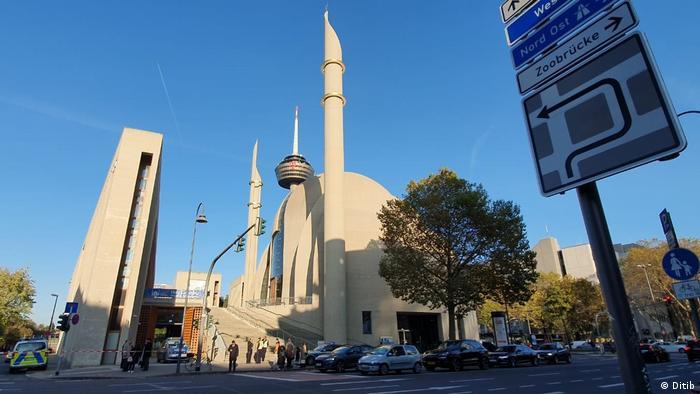 Zentral-Moschee in Köln (Ditib)