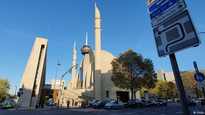 Bombendrohung Zentral-Moschee in Köln