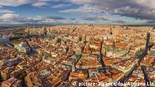 Spanien Stadtansicht von Madrid