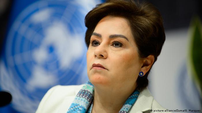 BM İklim Değişikliği Çerçeve Sözleşmesi Yönetici Sekreteri Patricia Espinosa