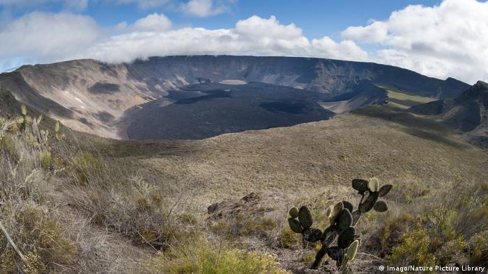 Galapagos Insel Isabela Wolf Vulkan
