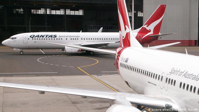 Qantas - Boeing 737 (picture-alliance/dpa/AP/R. Rycroft)