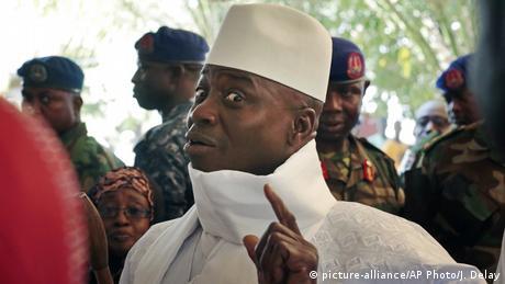 Le Gambien Yahya Jammeh