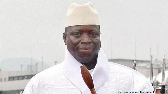 Foto de expresidente de Gambia Yahya Jammeh