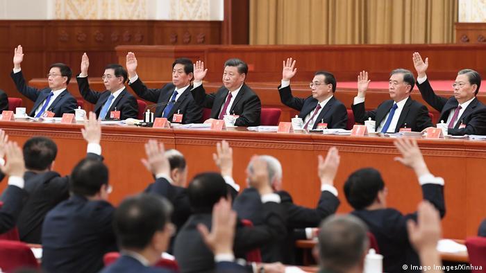 China 4. Plenarsitzung 19. Zentralkommitee KP (Imago Images/Xinhua)