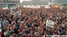 Ostberlin | Großdemonstration im November 1989 am Alexanderplatz
