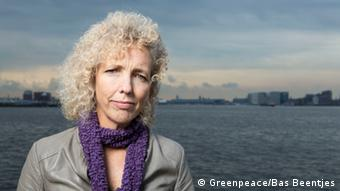 Jennifer Morgan, directora de Greenpeace International.