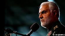 Ghasem Soleimani, der iranische Kommandeur des Ghods von Sepah Pasdaran (Revolutionsgarde) Rechte: lizenzfrei, mojnews