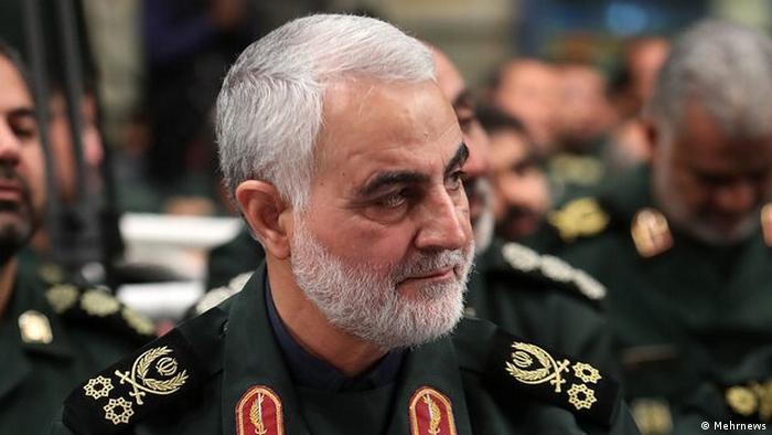 Qasem Soleimani, general de la Guardia Nacional Iraní, asesinado selectivamente por EE. UU. (3.01.2020).