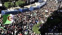 Algerien Algier Proteste gegen Regierung